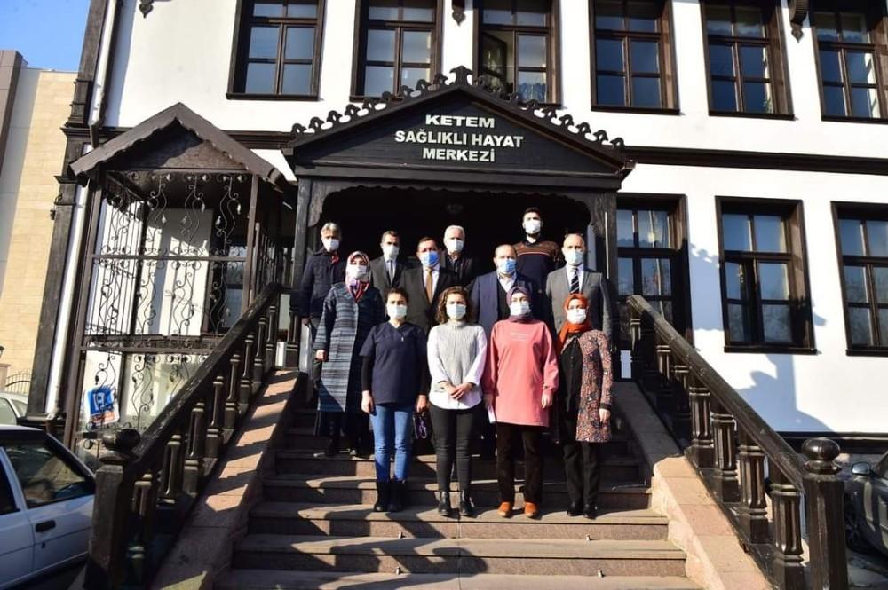 Başkan Vidinloğlu'ndan filyasyon ekiplerine ziyaret
