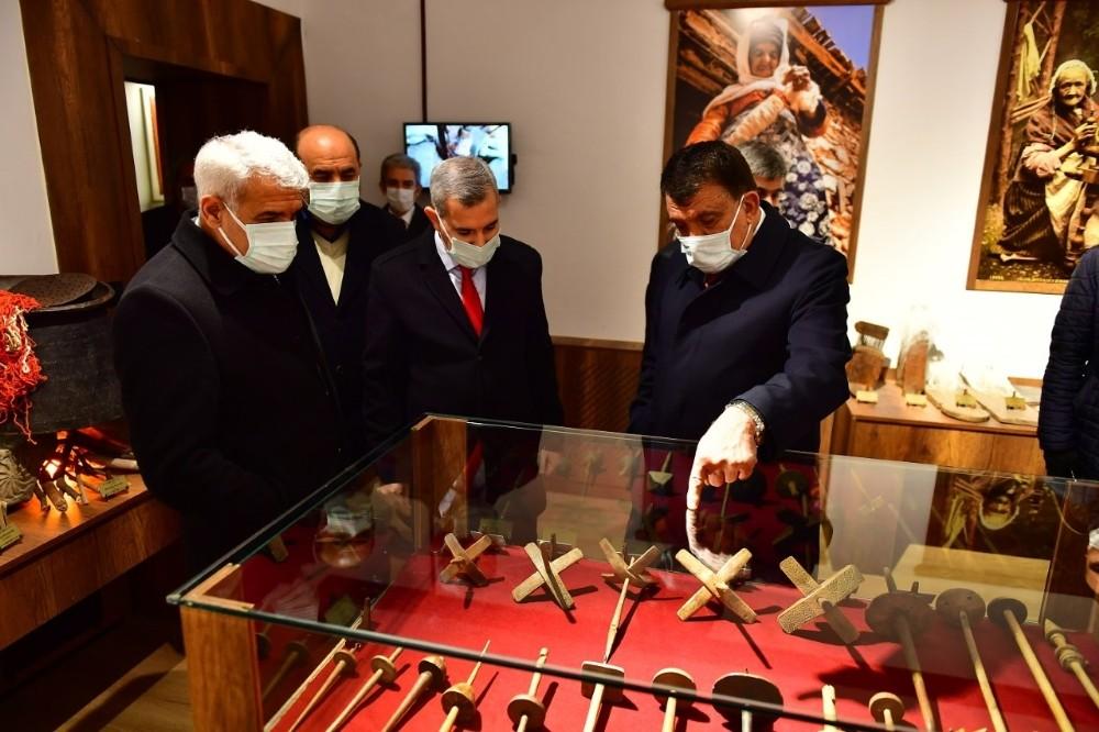 Başkanlar Çırmıhtı'daki restorasyon projelerini inceledi