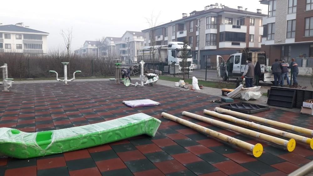 Beyciler Mahallesine yeni park