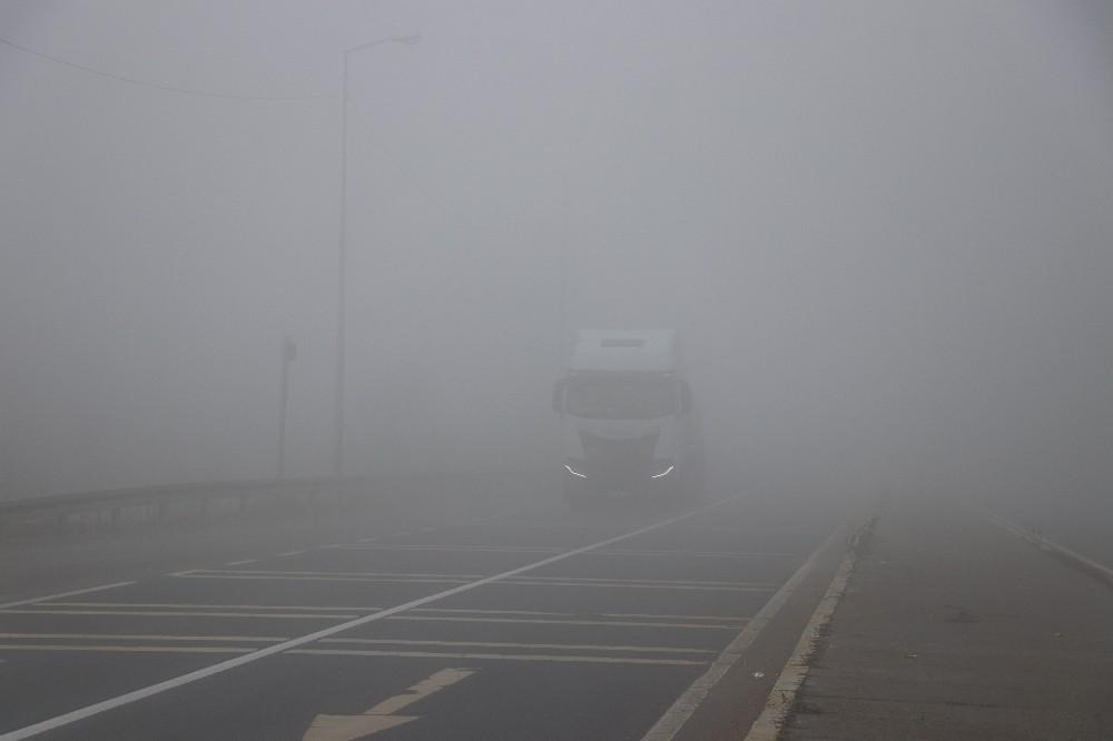 Bolu Dağı sisle kaplandı