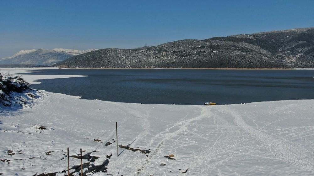 Bursa tarımının can damarı Gölbaşı Barajı'nda su seviyesi yükseliyor
