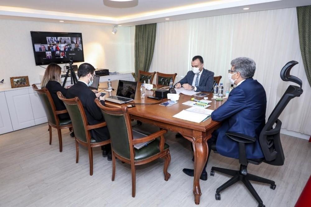 DAKA Yönetim Kurulu Toplantısı Van Valisi Başkanlığında Yapıldı
