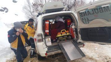Diyarbakır Büyükşehir Belediyesi ekipleri, hasta kadının imdadına yetişti