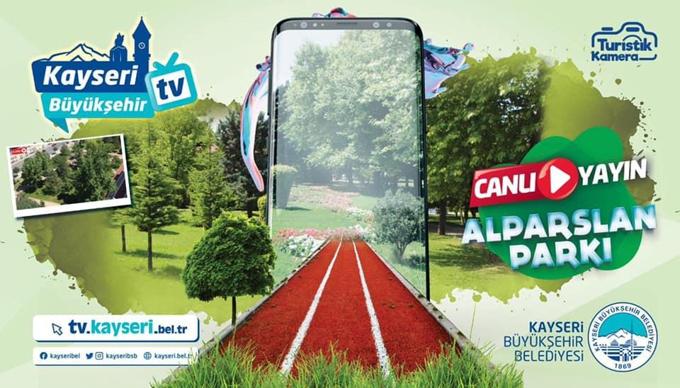 Dünya Büyükşehir TV ile Kayseri'yi 'canlı' izliyor