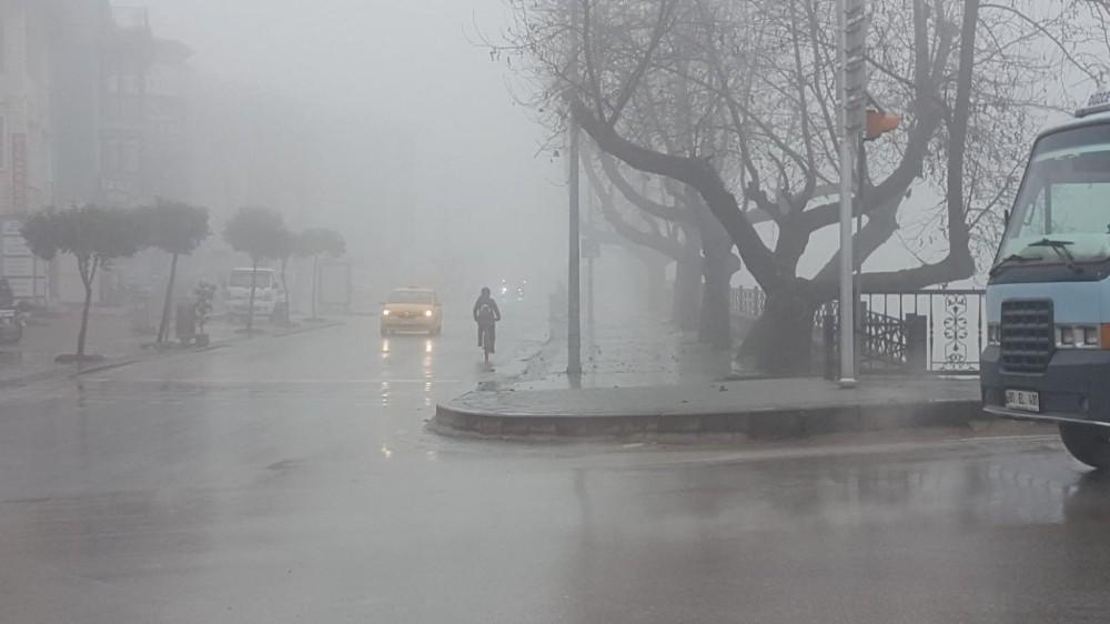 Düzce, 56 saatlik kısıtlamanın ardından güne sisle uyandı