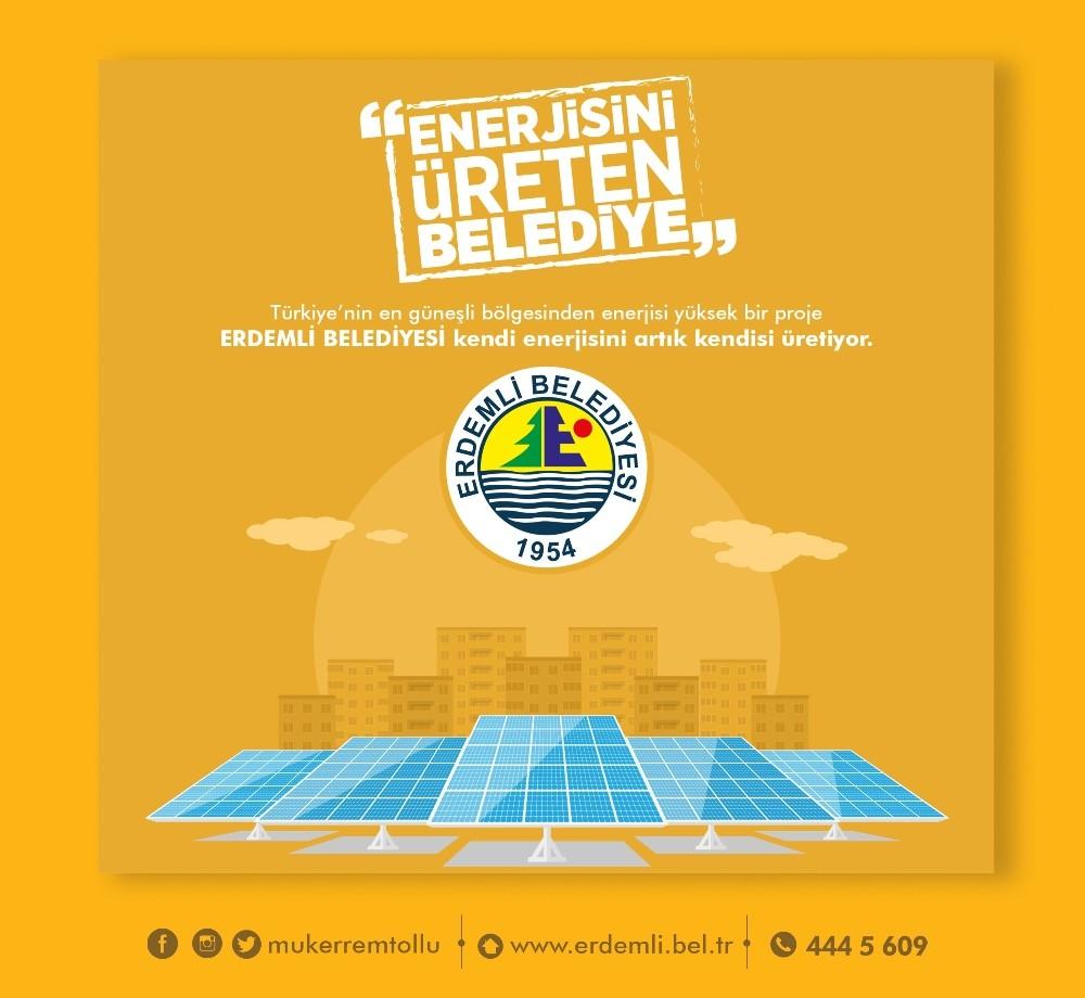 Erdemli 'ye 'Güneş enerji santrali' kurulacak