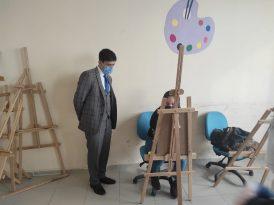 Ergani Kaymakamı Öztürk Gençlik Merkezini gezdi