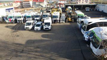 Ergene Belediyesi araç sayısını iki katına çıkardı