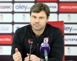 """Samsunspor: """"Hedefimiz ilk devreyi 33 puanla kapatmaktı ve başardık"""""""
