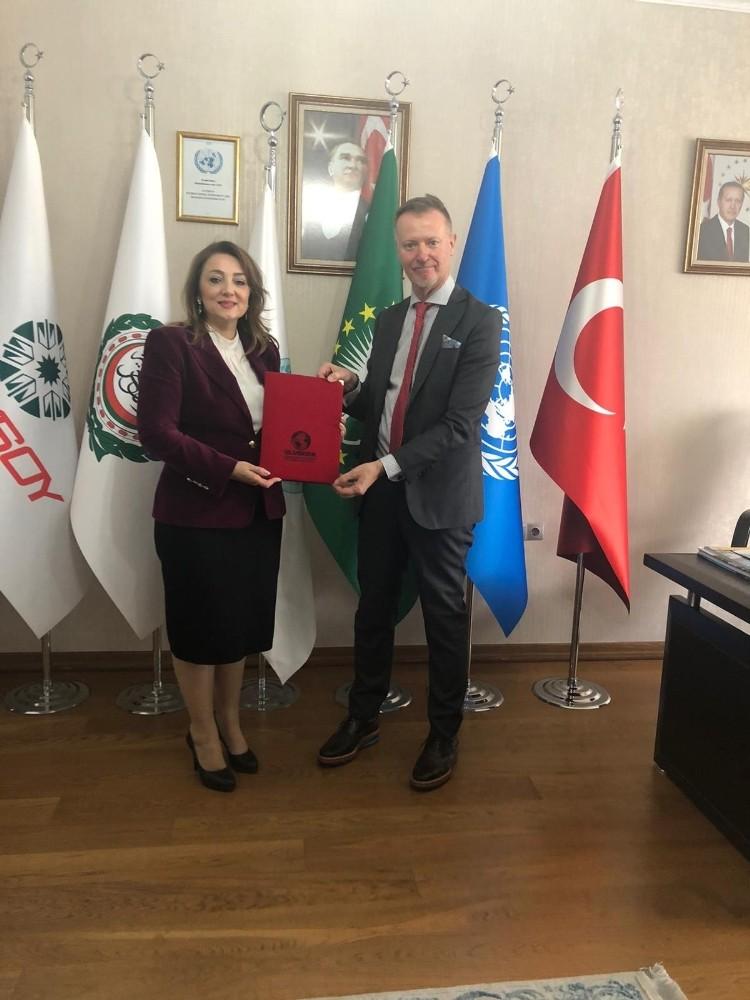 Finlandiya'nın Ankara Büyükelçisi Ari Maki ULUSKON Genel Merkezi'ni ziyaret etti