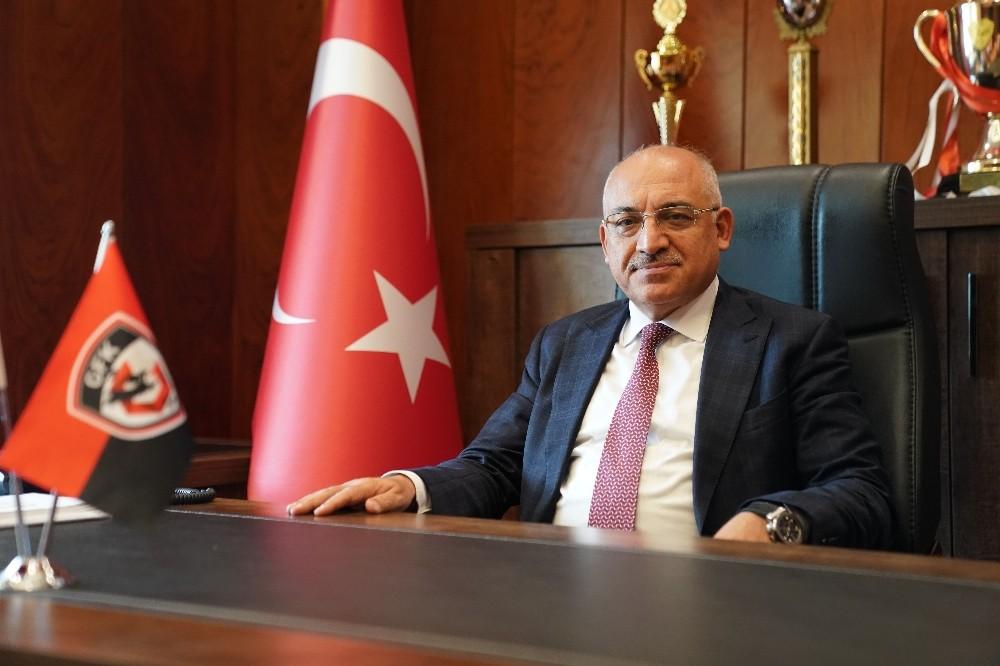 Gaziantep FK Başkanı Büyükekşi'den ayrılık süreciyle ilgili açıklama