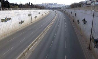 Gaziantep sokaklarında tarihi sessizlik