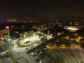 Gaziantep'in sessiz yeni yılı havadan görüntülendi