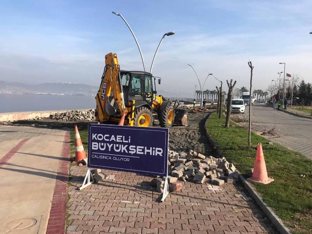 Gölcük Kavaklı Sahil Caddesi'nin çehresi değişecek