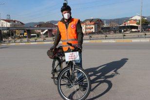 İBB'de İşten Çıkartılan İşçi, İstanbul'dan Ankara'ya Pedal Çeviriyor