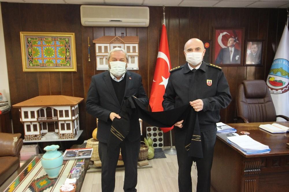 Jandarma'dan Belediye'ye Ziyaret