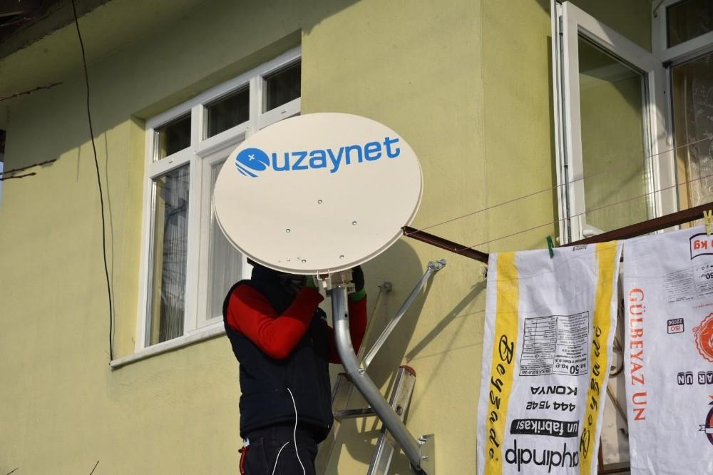 İzmit Belediyesinden köylere internet bağlantısı