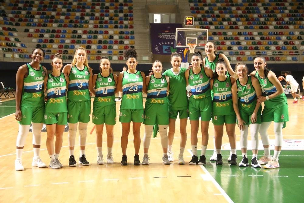Kadınlar Basketbol Süper Ligi: İzmit Belediyespor: 113 – Samsun Canik Belediye: 47