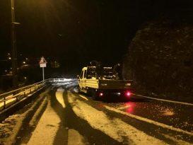 Kandilli Belediyesi karla mücadelesini sürdürüyor