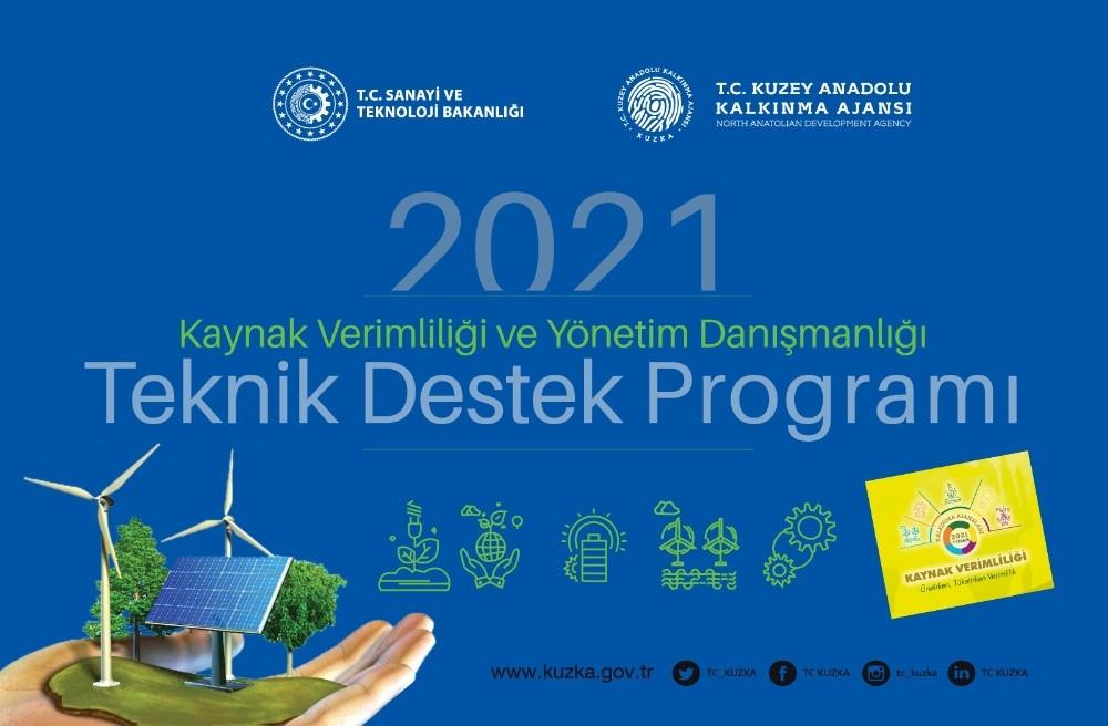 Kastamonu, Çankırı ve Sinop'a 1 milyon 800 bin TL'lik kaynak verimliliği desteği