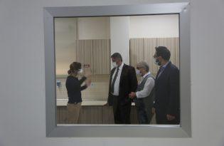 KBÜ Eğitim ve Araştırma Hastanesi Mikrobiyoloji Viroloji Laboratuvarı yenileniyor