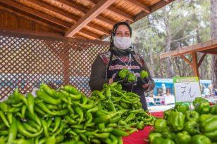 Kepez'den kırsaldaki 6 mahalleye köy pazarı