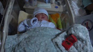 Kırıkkale'de yeni yılın ilk bebeği dünyaya geldi