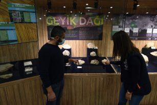 """Konya Bilim Merkezi'nde """"Fosil-Taş-Mineral"""" Sergisi"""
