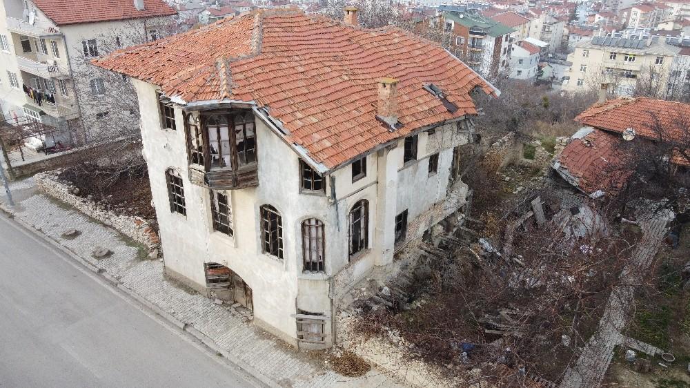 Konya'daki tarihi Çeçen Süleyman Efendi Konağı kurtarılıyor