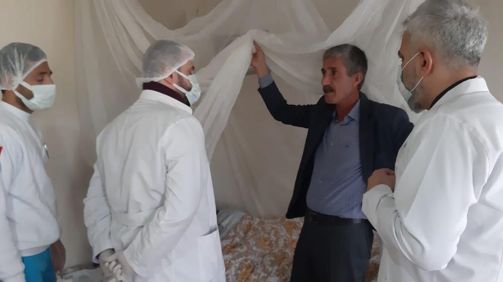 Mardin'de pandemi döneminde evde sağlık hizmetleri hız kazandı