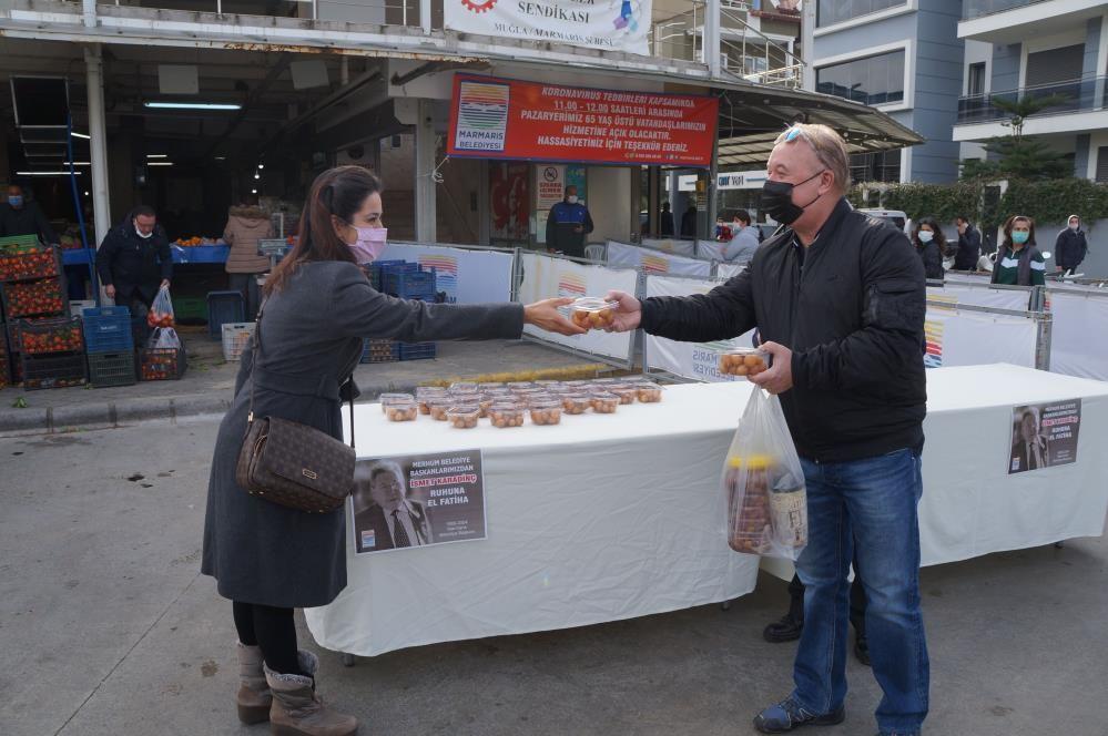 Marmaris Belediyesi, eski başkan Karadinç'i unutmadı