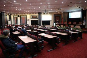 Melikgazi'de faaliyet raporu için hizmet içi eğitim
