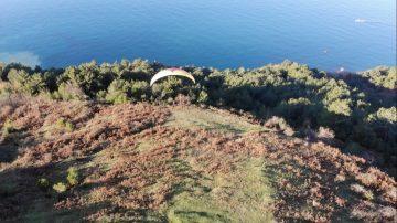 Merkeze en yakın yamaç paraşütü pisti tesisleşmeyi bekliyor