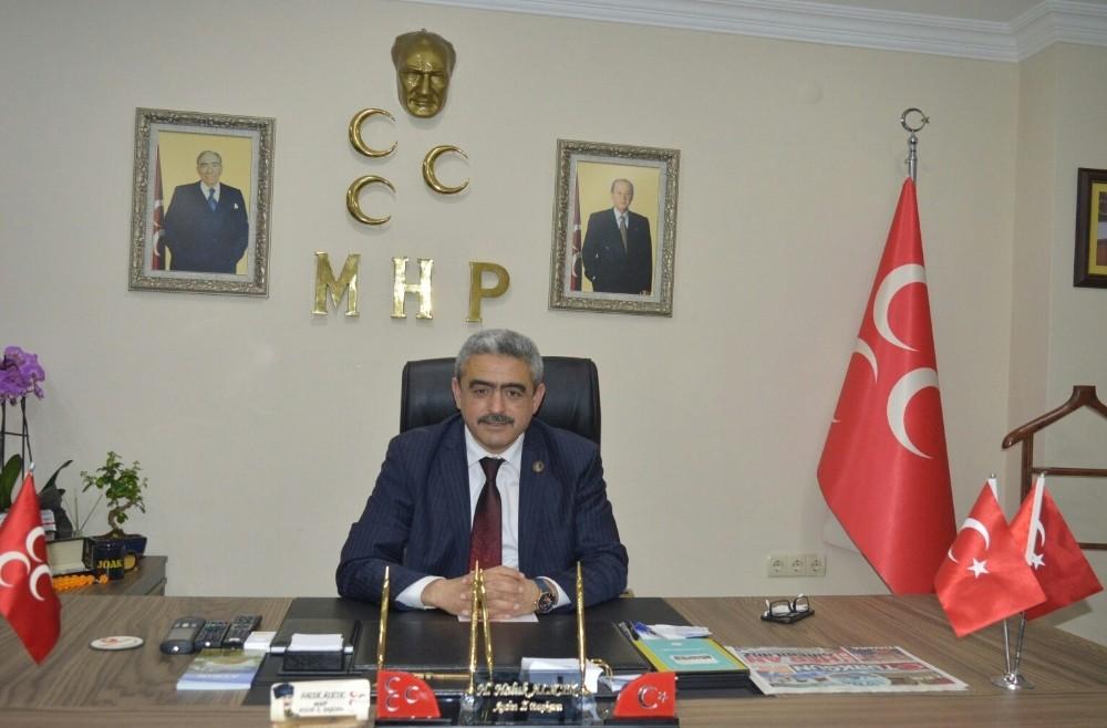 MHP Aydın İl Başkanı Alıcık gazetecileri unutmadı