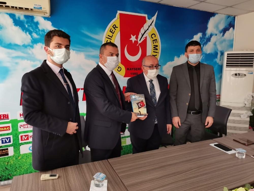 MHP İl Başkanı ve Ülkü Ocakları'ndan KGC'ye ziyaret