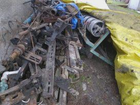 Müze yapılacak diye toplanan eşyalar çürümeye terk edildi