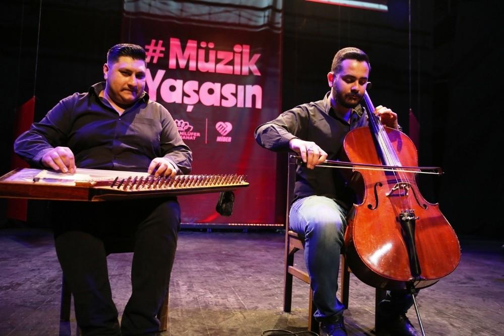 Nilüfer'de 'müzik yaşasın' konserleri başlıyor