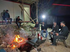 Paralarını alamadıklarını iddia eden işçiler yılbaşı gecesi şantiyede mahsur kaldı