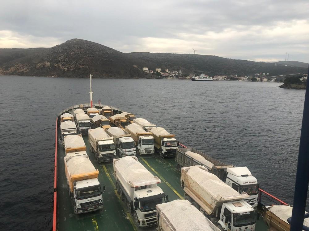 Paşaliman Adası'nda yol sorunu çözülüyor