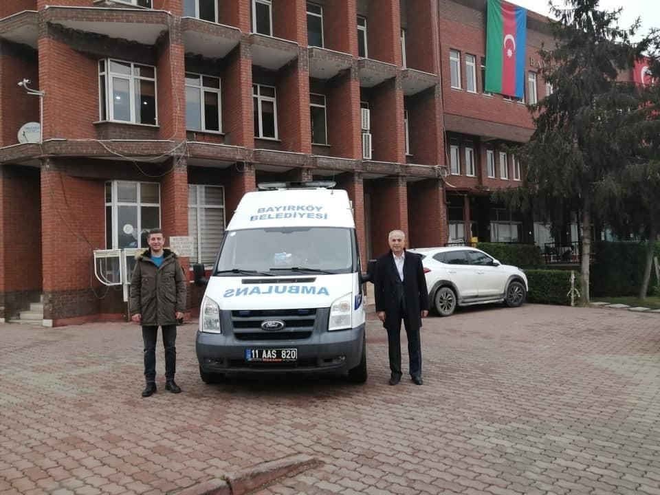 Sağlık Bakanlığından hasta nakil ambulansı