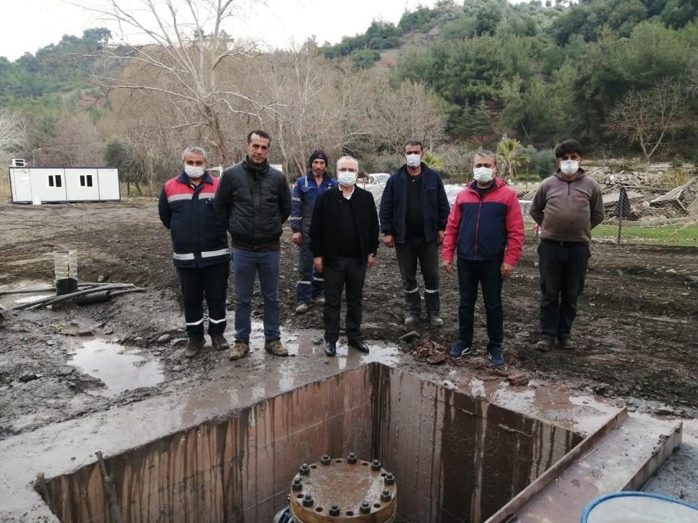 Salihli'de ekipler kısıtlamada boş durmadı