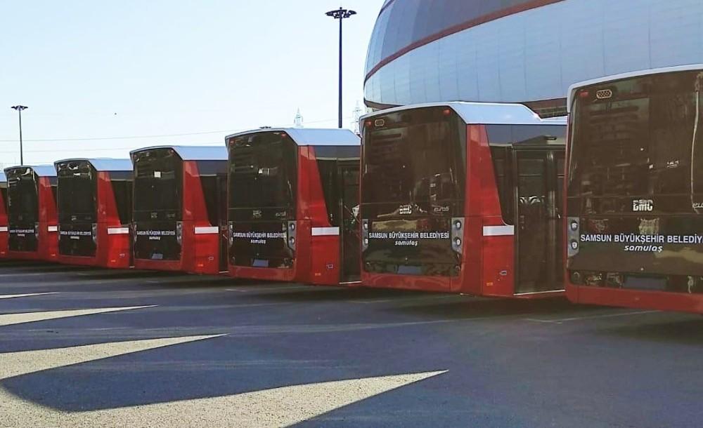 Samsun'da toplu ulaşım konforu artıyor