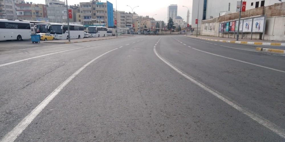 Şanlıurfa'da 80 saatlik sokağa çıkma yasağı devam ediyor