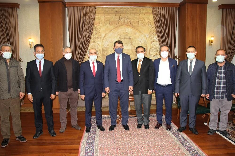 Sivas 4 Eylül Gazeteciler Cemiyeti'nden seri ziyaretler
