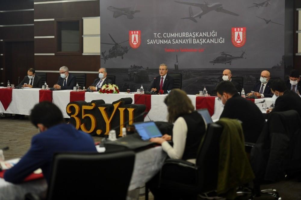 """SSB Başkanı Demir: """"(CAATSA yaptırımları) İlave bazı kararlar alınmazsa çok büyük bir hasar, risk olarak görmüyoruz"""""""