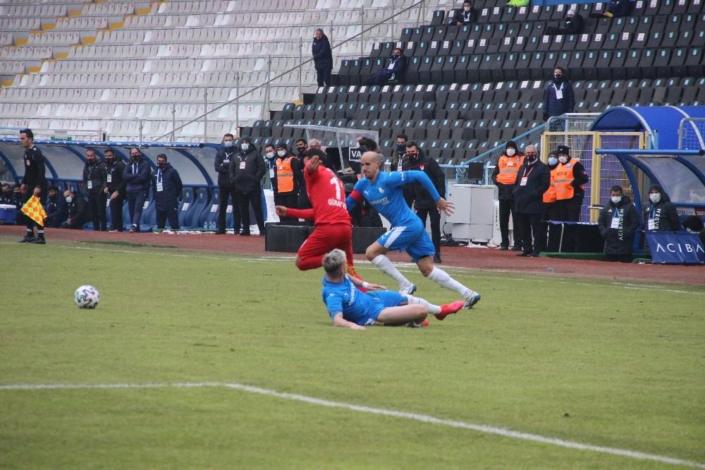 Süper Lig: BB Erzurumspor: 1 – Gaziantep FK: 1 (Maç sonucu)