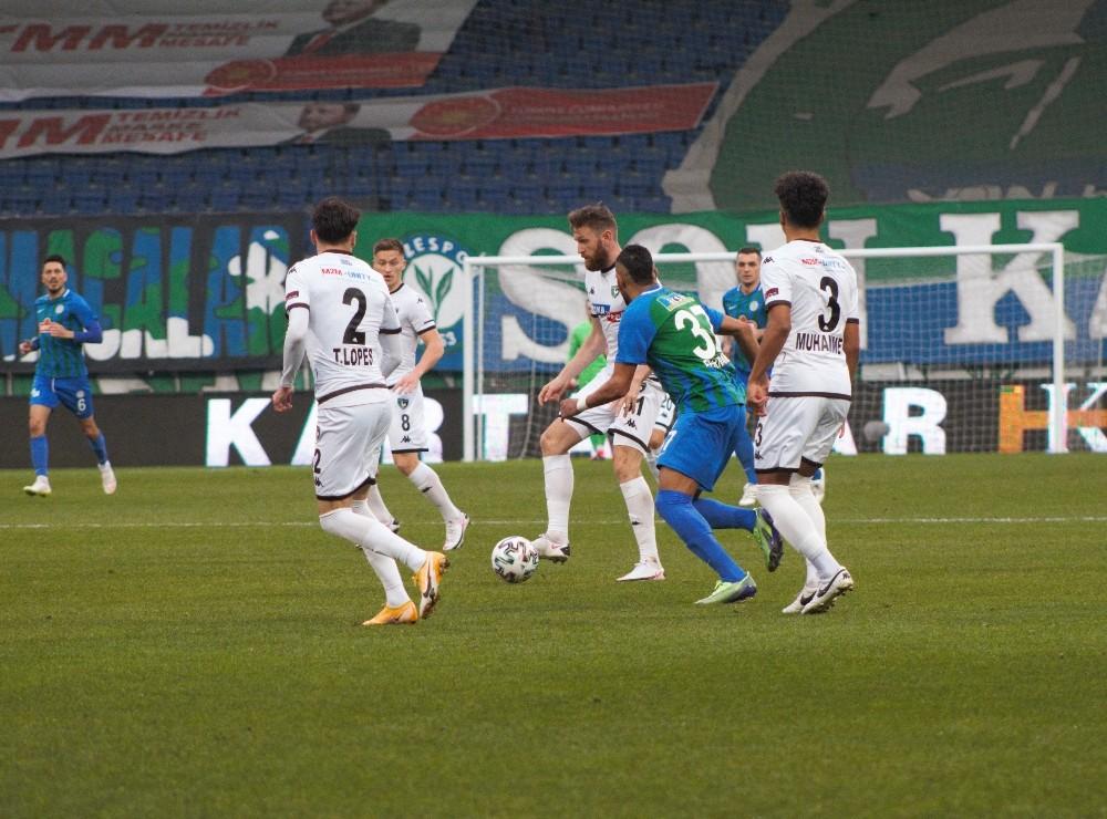 Süper Lig: Ç.Rizespor: 0 – Y. Denizlispor: 1 (İlk yarı)