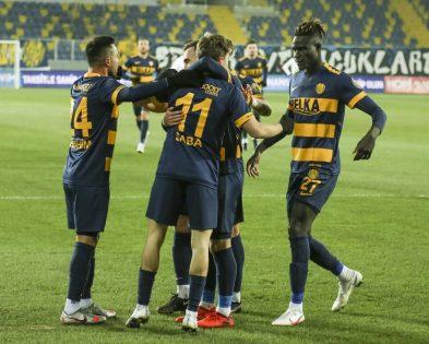 Süper Lig: MKE Ankaragücü: 1 – Kasımpaşa: 0 (Maç sonucu)