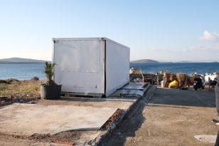 Ayvalık'ta Kaçak Binalara Dronlu Baskın