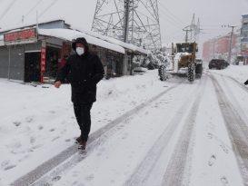 Alaplı Karla Mücadele Çalışmarı Devam Ediyor